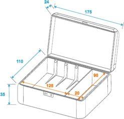 ROADINGER Case for 3 Turntable Systems