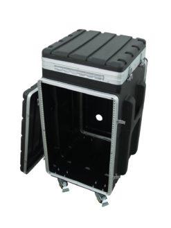 ROADINGER Combi case plastic 10/16U with wheels