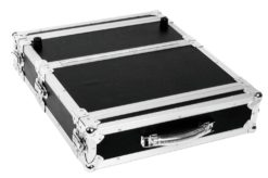 ROADINGER Double CD Player Case Tour Pro, 2U, black