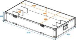 ROADINGER Extension Module Flightcase 31001090