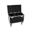 ROADINGER Flightcase 2x TMH-X5 with Wheels