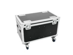 ROADINGER Flightcase 4x Audience Blinder 2xCOB