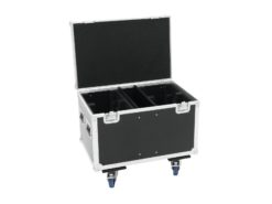 ROADINGER Flightcase 4x EYE-7 RGBW Zoom