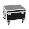 ROADINGER Flightcase 4x LED TMH-X1 Moving-Head Beam
