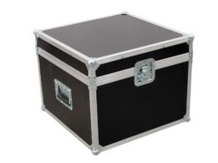 ROADINGER Flightcase 4x PAR-64 Spot short