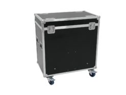 ROADINGER Flightcase 8x Audience Blinder 2xCOB