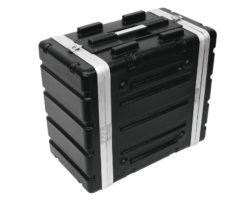 ROADINGER Plastic-Rack KR-19, 6U, DD, black