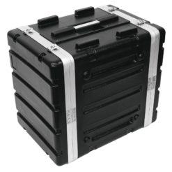 ROADINGER Plastic-Rack KR-19, 8U, DD, black