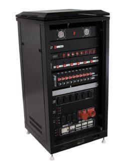 ROADINGER Steel Cabinet SRT-19, 16U with Door