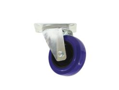 ROADINGER Swivel Castor 100mm blue shielded bearing