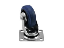 ROADINGER Swivel Castor 75mm blue