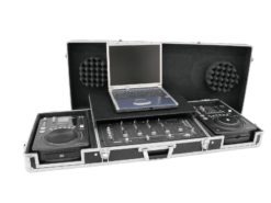 ROADINGER Universal Console DS-1 2xCD/1xM-19 LT bk