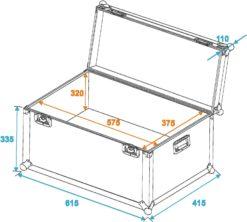 ROADINGER Universal Transport Case heavy 60x40cm