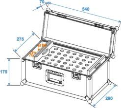 ROADINGER Universal cone adapter case UKAC-35/50