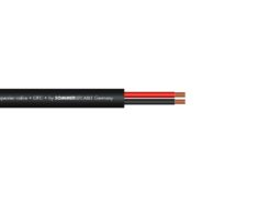SOMMER CABLE Speaker cable 2x2,5 100m bk FRNC
