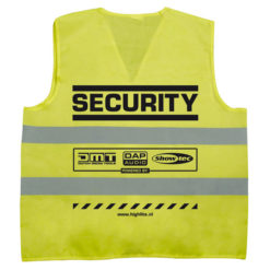 Security-jacket Sicurezza, Giallo