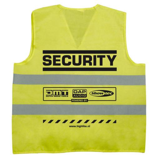 Security-jacket Sicurezza, Giallo