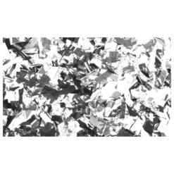 Show Confetti Metal Argento, Rettangolo, 1 kg Ignifugo