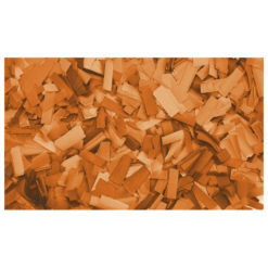Show Confetti Rectangle 55 x 17mm Arancione, 1 kg Ignifugo