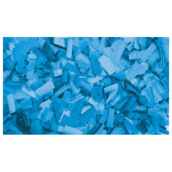 Show Confetti Rectangle 55 x 17mm Blu chiaro, 1 kg Ignifugo