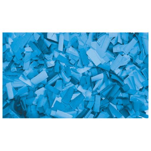 Show Confetti Rectangle 55 x 17mm Blu chiaro, 1 kg Ignifugo