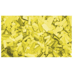 Show Confetti Rectangle 55 x 17mm Giallo, 1 kg Ignifugo