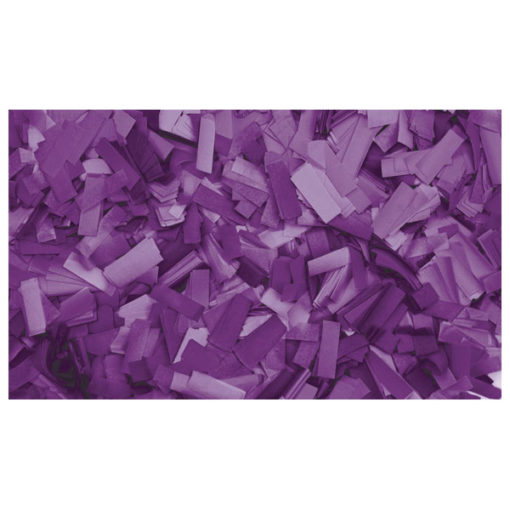 Show Confetti Rectangle 55 x 17mm Porpora, 1 kg Ignifugo