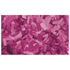 Show Confetti Rectangle 55 x 17mm Rosa, 1 kg Ignifugo
