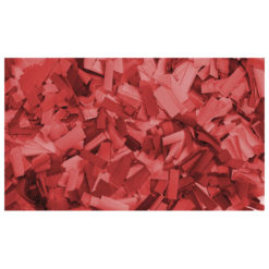Show Confetti Rectangle 55 x 17mm Rosso, 1 kg Ignifugo
