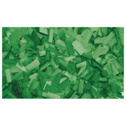 Show Confetti Rectangle 55 x 17mm Verde, 1 kg Ignifugo