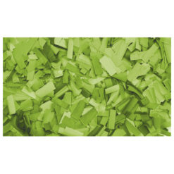Show Confetti Rectangle 55 x 17mm Verde chiaro, 1 kg Ignifugo