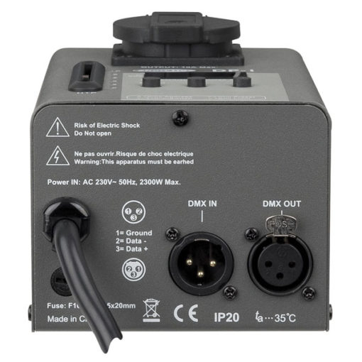 Single DP-1 Dimming/Switch pack DMX a 1 canale
