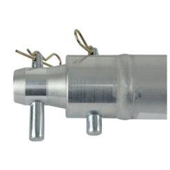 Single Tube F Truss 50 x 2 mm, 50 cm con ricevitori femmina