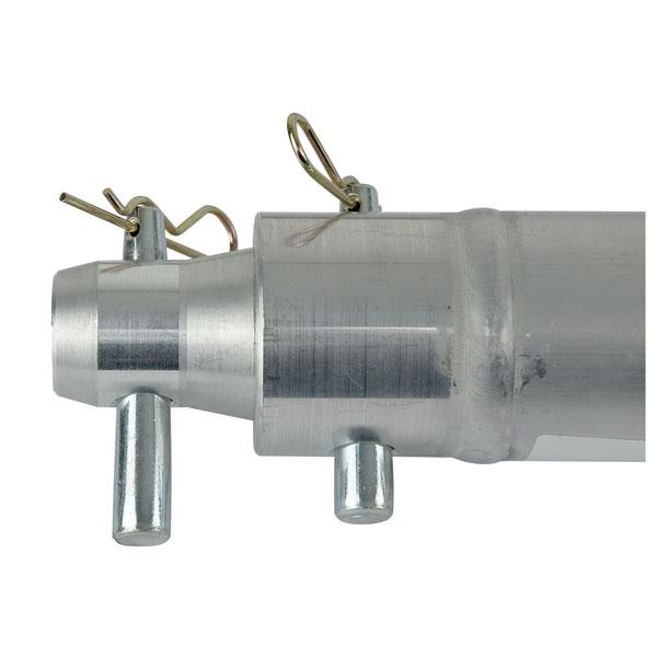 Single tube f truss 50 x 2 mm 50 cm con ricevitori for Dormitorio 2 50 x 2 50