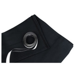 Skirt for Stage-elements 6 m (P) - 1 m (H), Nero