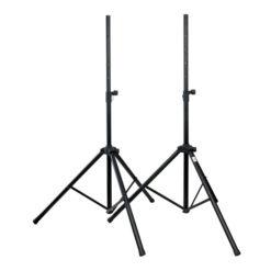 Speaker Stand Set Alluminio 1.220-1.900 mm carico massimo 25 Kg