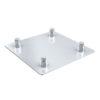 Square base plate male