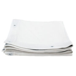 Square cloth white 1,4 x 1,4 m