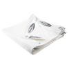 Square cloth white 2,4 x 2,4 m