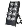 Stage Blinder 8 DMX Nero
