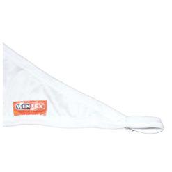 Stretch Shape Triangle 250cm x 125cm, colore bianco