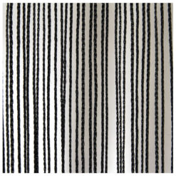 String Curtain 3m Width lunghezza 3m, colore nero