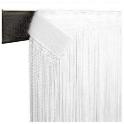 String Curtain 3m Width lunghezza 4m, colore bianco