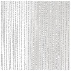 String Curtain 3m Width lunghezza 6m, colore bianco