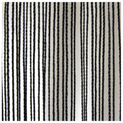 String Curtain 3m width lunghezza 6m, colore nero