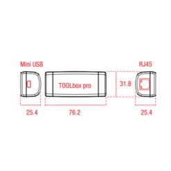 TOOLbox PRO dispositivo per impostazione driver eldoLED