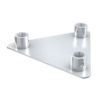 Triangle base plate female Piastra di base per FT30