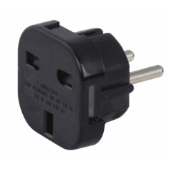 UK to Schuko Plug adapter 230V/240V
