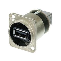 USB D-Chassis Alloggiamento in nichel