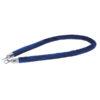 Velvet Rope Silver Hook Blu